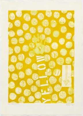 Untitled (Yellow) [trial proof 3rd state]