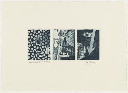 Untitled [trial proof (1981 plates)]