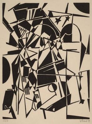 Stars Bridge (Abstract Composition)