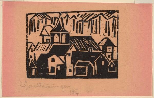 Church and Village (Kirche Und Dorf)