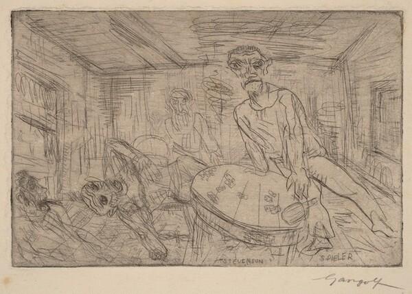 Spieler (Stevenson) [Gambler (Stevenson)]