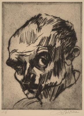 Self-Portrait (Ludwig Meidner VIII)