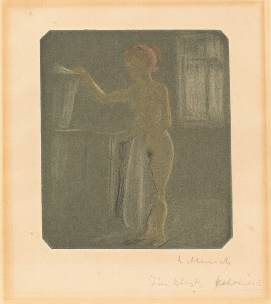 Female Nude in an Interior