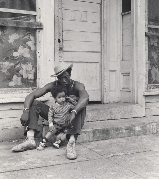 Jimmy Webster with his Father, Verne (Lower West Side series)