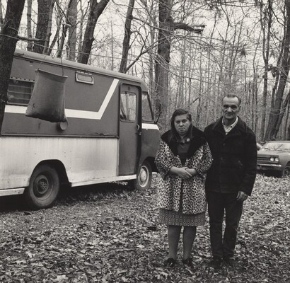 Benjamin Boofer with his Wife, Shenango Ingot Molds (Working People series)