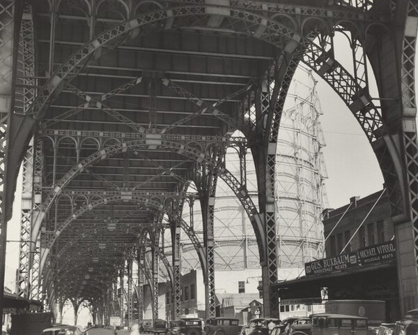 Under Riverside Drive Viaduct, at 125th Street and 12th Avenue, Manhattan