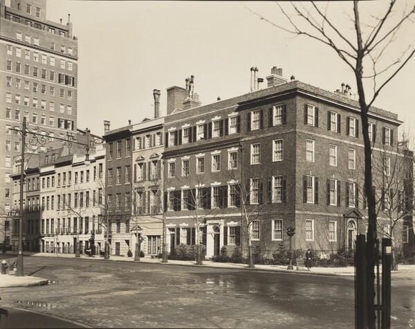 Sutton Place: Anne Morgan's Town House on Corner, Northeast Corner of East 57th Street, Manhattan