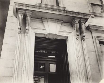 Fifth Avenue No. 8 (Marble House), Manhattan