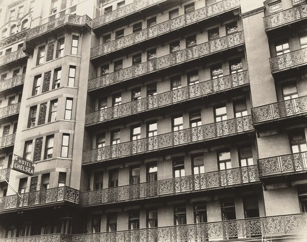 Chelsea Hotel, West 23rd Street Between 7th and 8th Avenues, Manhattan