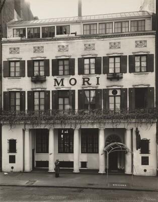 Mori's Restaurant, 144 Bleecker Street, Manhattan