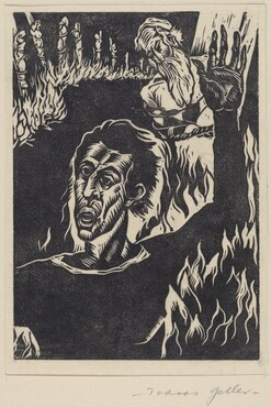 Untitled (Burning Figures)