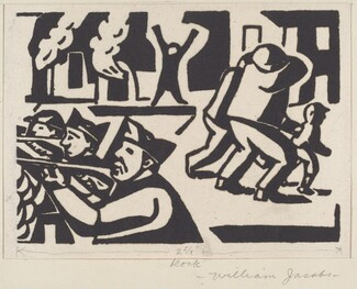 Untitled (Men, Rifles, Fire)