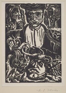 Untitled (Man, Heads)