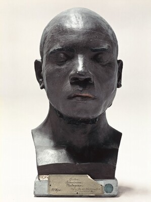 Portrait of a Life-Cast of Guidon, Madagascar