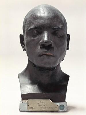 Portrait of a Life-Cast of Guidon, Madagascar