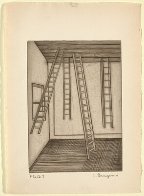 He Disappeared into Complete Silence, Plate 8