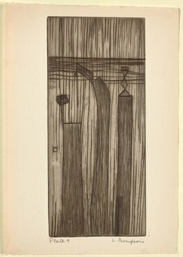 He Disappeared into Complete Silence, Plate 9