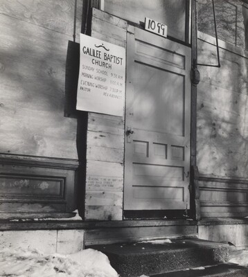 Galilee Baptist Church (Storefront Churches series)