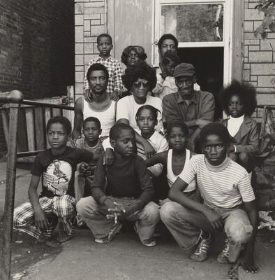 Hubert Morrison with Family, Atlas Steel (Working People series)