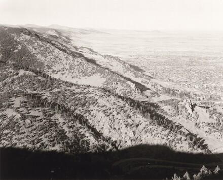 North from Flagstaff Mountain, Boulder County, Colorado
