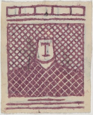 Untitled (Patterned Figure) [recto]