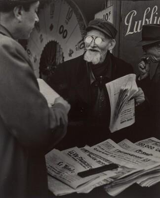 Le vendeur de journaux (Newspaper Vendor)