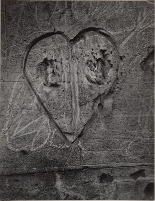 Untitled, from the series Graffiti: Love