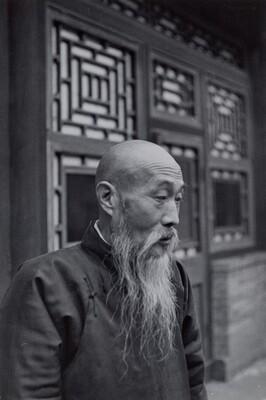 Antiques Dealer, Beijing, China