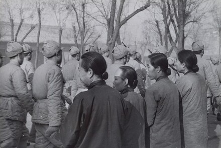 Parade of Conscripted Soldiers, Beijing, China
