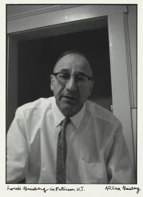 Louis Ginsberg in Patterson, N.J