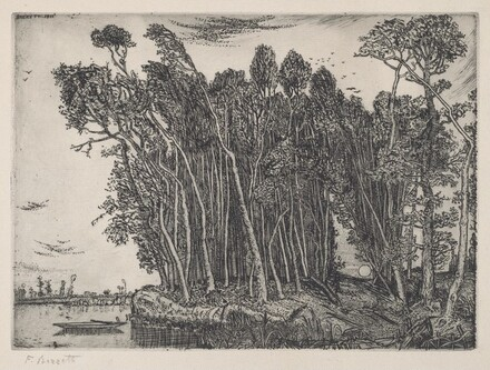 Woods on the Bank of a River (Il Bosco in riva al fiume)