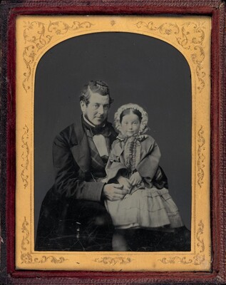 Portrait of a Man and a Girl