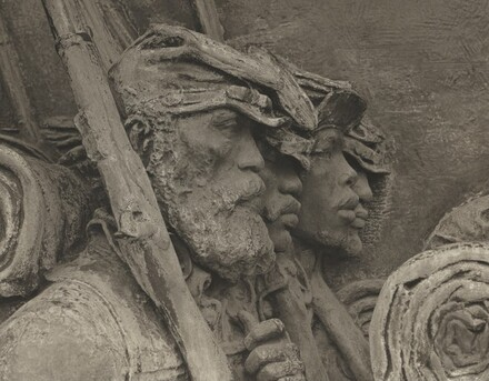 Portraits of Soldiers from the Saint-Gaudens Memorial