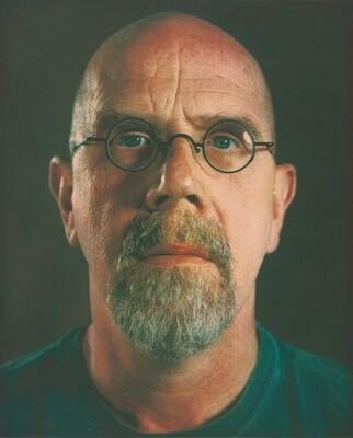 Self-Portrait (proof for unpublished print)