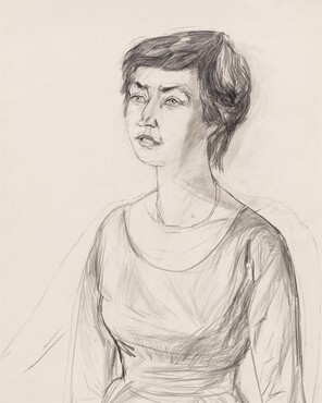 Untitled (Portrait of the art historian Dr. Annaliese Mayer-Meintschel)