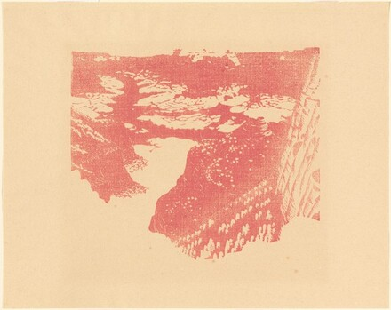 Bright Angel Trail [proof in pink]