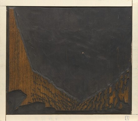 Bright Angel Trail [woodblock no. 1]