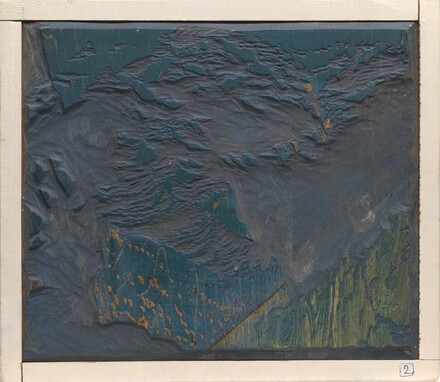 Bright Angel Trail [woodblock no. 2]