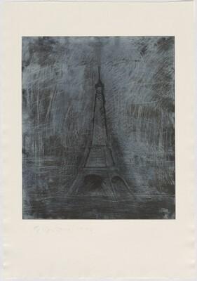 Retroussage Eiffel Tower
