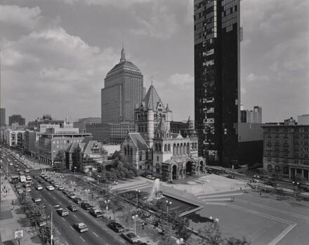 View of Copley Square, Boston