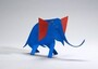 image: Blue Elephant with Red Ears