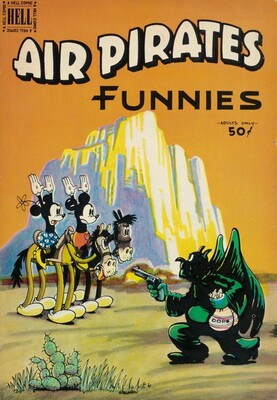 Air Pirates Funnies, Vol. 1, No. 2