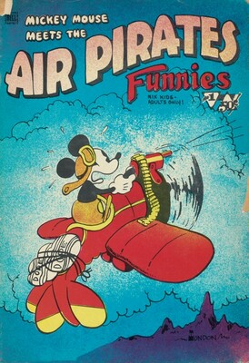 Mickey Mouse Meets the Air Pirates Funnies, Vol. 1, No. 1