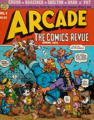 Arcade, The Comics Revue #1