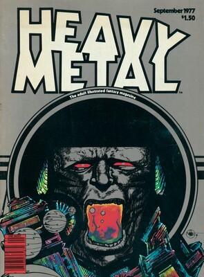 Heavy Metal, Vol. 1, No. 6, September 1977
