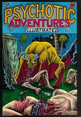 Psychotic Adventures Illustrated #1