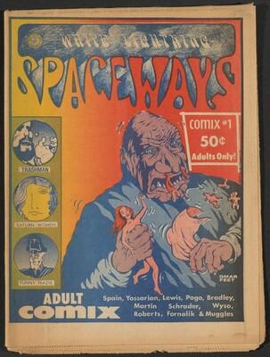 White Lightning Spaceways Comix #1