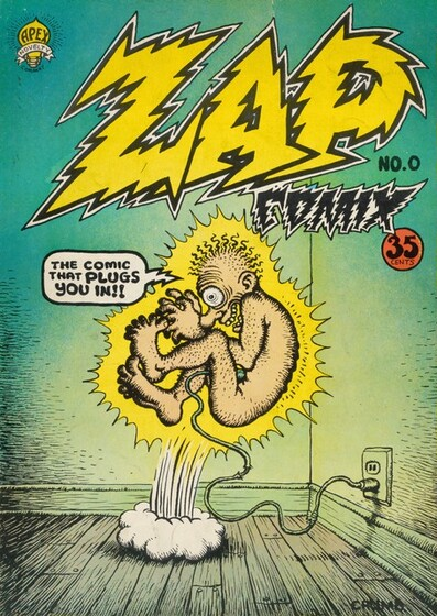 Robert Crumb, Apex Novelties, Zap, no. 0, 1968