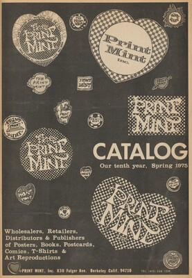 Print Mint Catalogue, Spring 1974