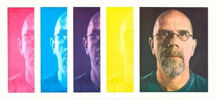 Self-Portrait (study for unpublished progression print)